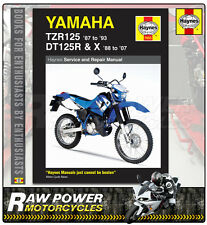 Yamaha TZR125 (87 - 93) and DT125R/X (88 - 07) Haynes Manual (1655)