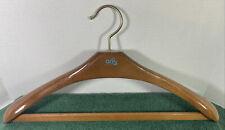 One Aris Wooden Suit Coat Hanger- ART. 222- Made in Italy  @ 17.5 x 8.5