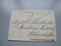 1848 Queen Victoria letter ( Sheffnall ? ) - To Stourbridge