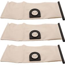 3 x Lavable Réutilisable sous vide chiffon Sac à poussière pour Vax 9131 s6254