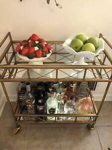 Vintage Strawberry Covered Dish Pedestal