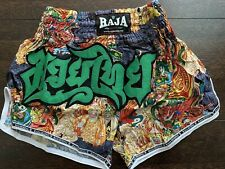 Raja Boxing Muay Thai Shorts Mma Boxing New in Package Medium*On Sale*