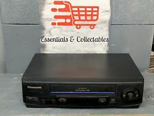 Panasonic 4 Head Omnivision Pv-V4021 Vhs Vcr Comes With Rwy Cords And Power Plug