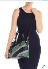 Calvin Klein Jacky Raffia Tote  Handbag  Shoulder Bag NWT $228 B15