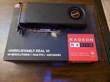 VisionTek AMD Radeon RX 570 4GB GDDR5 PCI Express 3.0 x16 Video Card