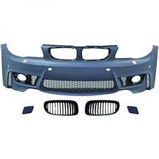 Paraurti anteriore TUNING BMW Serie1 tutte, 04-11 verniciabile, per sensori, anc