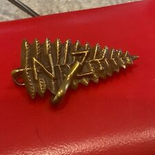 More details for new zealand military badge with medal clasp attached rare 1ww badge