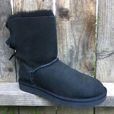 UGG Bailey Bow II Womens Boots Black