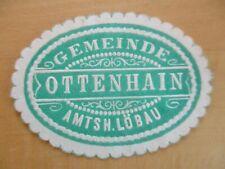(26174) Siegelmarke - Gemeinde Ottenhain Amtsh. Löbau