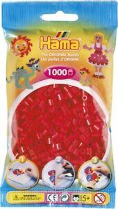Hama 207-05 - Confezione  perline da stirare  color rosso 1.000 pezzi