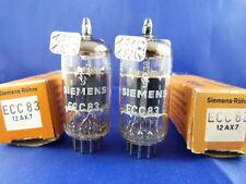 Matched Pair ECC83 Siemens # NOS/NIB # d. g. s. #  same production code (7803)