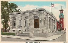 Post Office in Nashua NH Postcard