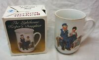"VINTAGE Normal Rockwell LIGHTHOUSE KEEPER'S DAUGHTER TC1 4"" MUG CUP NEW"