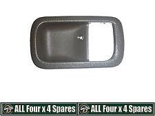 Right Inner Door Handle Bezel Brown suitable for Landcruiser 80 Series Genuine