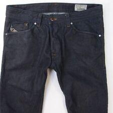 Homme Diesel DARRON 008Z8 Slim Tapered Coupe Régulière Bleu Jeans W32 L34