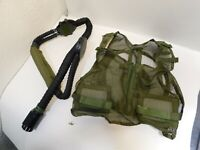 U.S. ARMY COOLING VEST NSN: 8415-01-217-5634 Vest, AIR Conditioning Microclimate