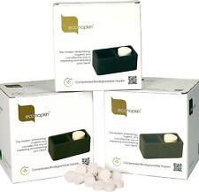 Econapkin The Eco Friendly Compressed Napkins 100 BULK Pack