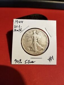 1944 Walking Liberty Half Dollar Nice Coin