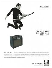 Jesse Hughes Eagles of Death Metal 2007 Ampeg guitar J20 Jet Amp 8 x 11 ad print