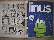 LINUS #5 1965 ANNO 1 ORIGINALE NO RISTAMPA CON ALLEGATO CENTRALE ABBONAMENTO
