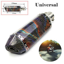 38-51mm Universal Motorcycle Exhaust Muffler Pipe Six Corners Movable DB Killer