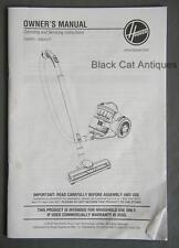 Original 2014 Hoover Cyclone-Style Vacuum Owner's Manual/Parts List Eng/Fr/Sp
