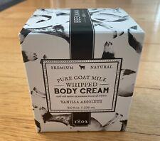 New ListingBeekman 1802 Pure Goat Milk Whipped Body Cream Vanilla Absolute 8 Oz New