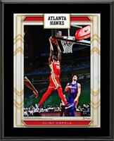 "Clint Capela Atlanta Hawks 10"" x 13"" Sublimated Player Plaque"