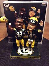 Forever Collectibles Green Bay Packers Reggie White & Brett Favre Bobblehead!