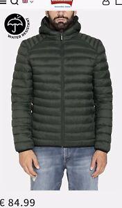Men's thin down jacket DARK GREEN size L