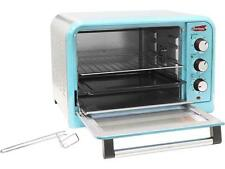 Elite Ero-2600Bl Blue 6 Slice/26L Retro Toaster Oven Blue
