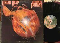 Uriah Heep Return to Fantasy Vinyl LP Bronze Warner Bros BS 2869 John Wetton VG