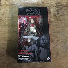 "Star Wars Black Series Baze Malbus 6"" 37 IN STOCK SHIPPING Rogue One"