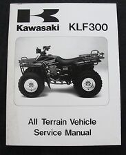 1986 1987 KAWASAKI 300 KLF300 ATV ALL TERRAIN VEHICLE REPAIR SERVICE MANUAL