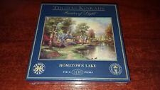 HOMETOWN LAKE - 108 PIECE JIGSAW TRAVEL PUZZLE - THOMAS KINKADE PAINTER OF LIGHT