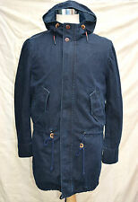 BNWT mens TOMMY HILFIGER denim parka jacket detachable lining size M RRP £220