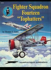 Vintage Squadron Signal Magazine Fighter Fourteen Tophatters Aircraft Plane