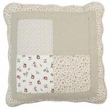 Clayre & Eef Kissenhülle Kissenbezug Baumwolle gequiltet, 50 x 50 cm