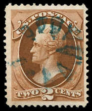 momen: US Stamps #146 Used VF Fancy Cancel