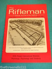 THE RIFLEMAN - PHYSIOLOGY & PSYCHOLOGY - JUNE 1977 #505