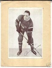 Paul Haynes Rare 1930's Crown Brand Hockey Photo