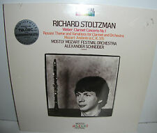 ARC1-4599 Weber Clarinet Concerto etc Richard Stoltzman Audioophile New Sealed