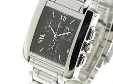 GUESS METAL BELT chrono rettangolare quarzo acciaio con bracciale 23503G2 new