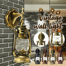 Retro Wall Lighting Sconce Vintage Exterior Lantern Antique Fixture Outdoor