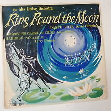 vinyl RING ROUND THE MOON alex lindsay / ritchie concertino / harbour nocturne