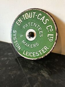 Leicester Tennis enamel sign