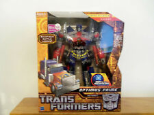 TRANSFORMERS Hunt for the Decepticons. Leader Class Optimus Prime BATTLE HOOKS