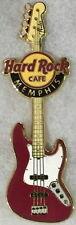 Hard Rock Cafe MEMPHIS 2010 FENDER ERA Guitar Series PIN Jazz Bass - HRC #53298