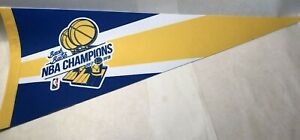 Back To Back 2017 / 2018 Golden State Warriors Championship NBA Pennant