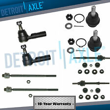 2WD 8pc Front Sway Bars Inner Outer Tie Rods Ball Joints for Dodge Ram 1500